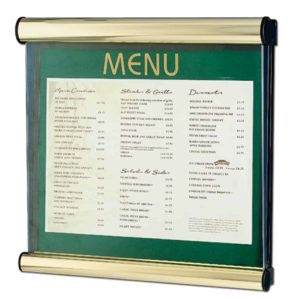 Hospitality Boards & Menu Cases