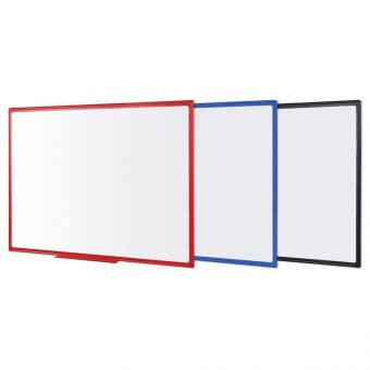 Bi-Office Maya Plastic Framed Whiteboard