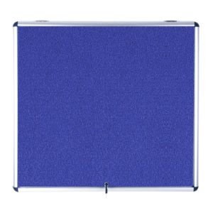 Enclore Top Hinged Lockable Felt Noticeboard