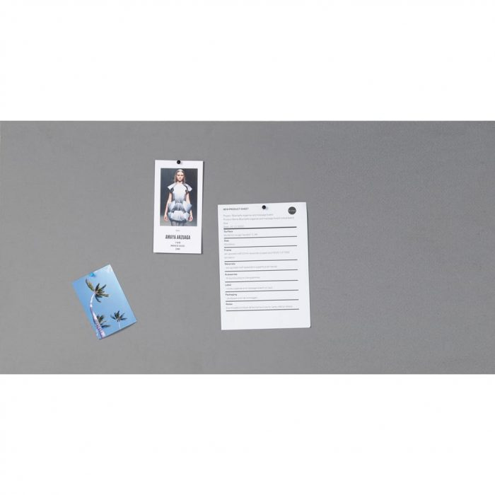 Bi-Office Unframed Felt Board