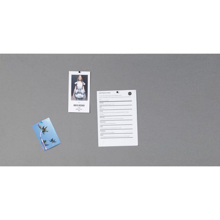Bi-Office Unframed Felt Board