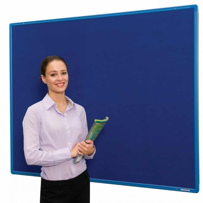 Colour Co-ordinated Aluminium Frame FlameShield Noticeboards