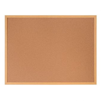 Earth-It Cork Wood Frame Noticeboard 600 x 900mm