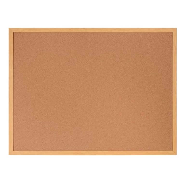 Earth-It Cork Wood Frame Noticeboard 600 x 900mm