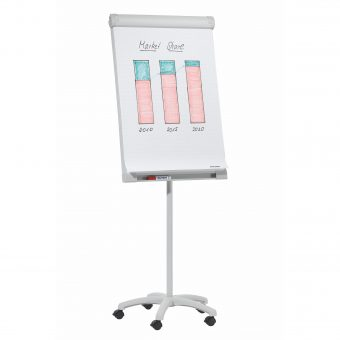 Franken Executive Mobile Magnetic Flipchart Easel
