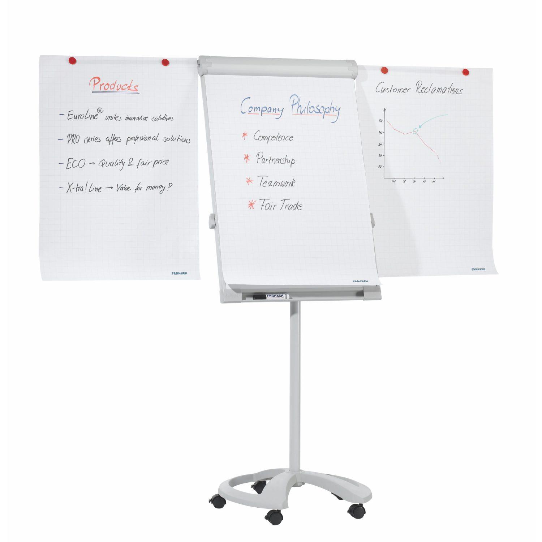 Franken Easy Height Adjustable Executive Mobile Flipchart