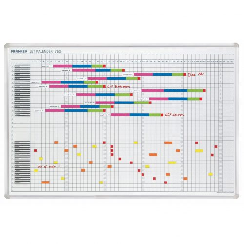 Franken Magnetic Year Calendar Planner - Style 2