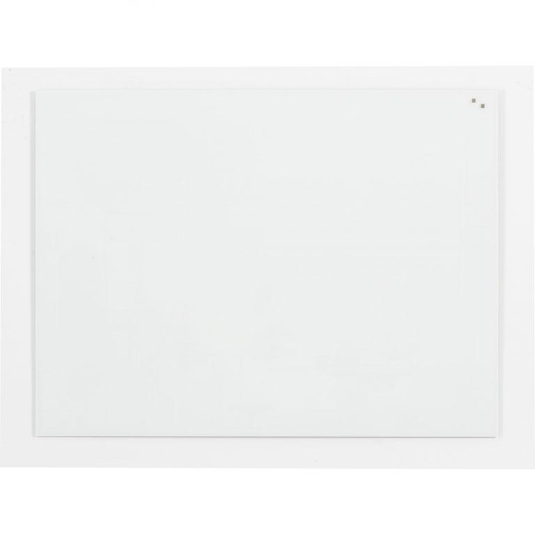 Franken Glass Board White magnetic 650x 1000mm