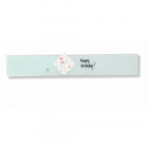Franken Magnetic Glassboards 100 x 600mm White