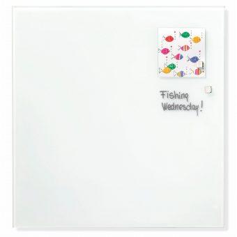 Franken Glass Board White magnetic 1200 x 1200mm