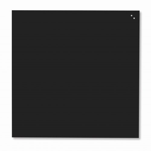 Franken Magnetic Glassboards 350 x 350mm Black