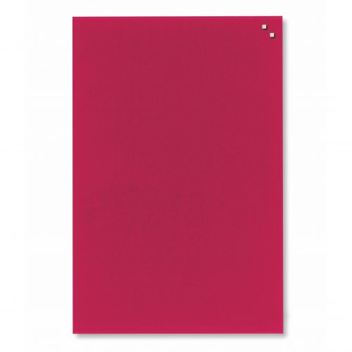 Franken Magnetic Glassboards 400 x 600mm Red