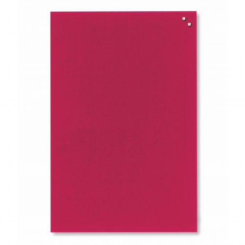 Franken Magnetic Glassboards 400 x 600mm Red