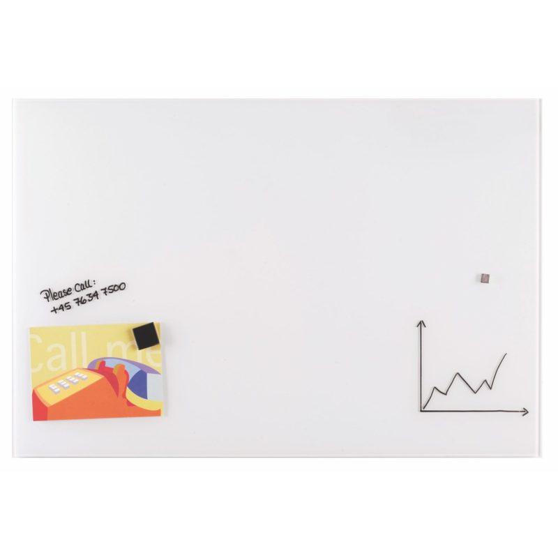 Franken Magnetic Glassboards 400 x 600mm White