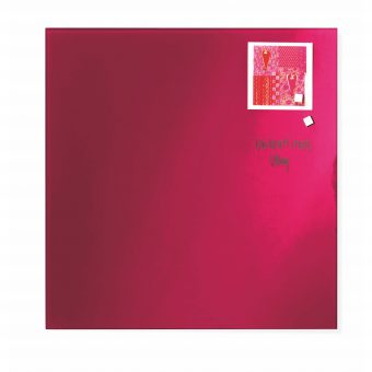 Franken Magnetic Glassboards 450 x 450mm Red