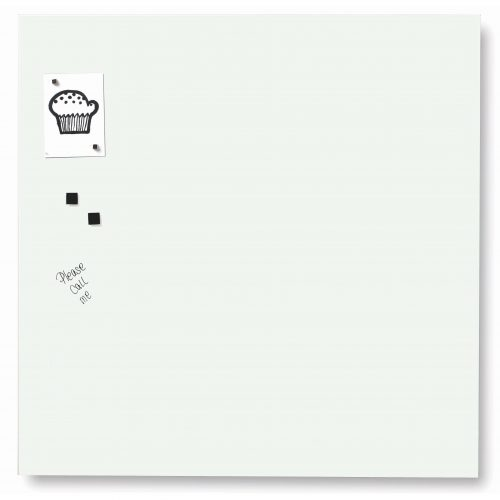 Franken Magnetic Glassboards 450 x 450mm White