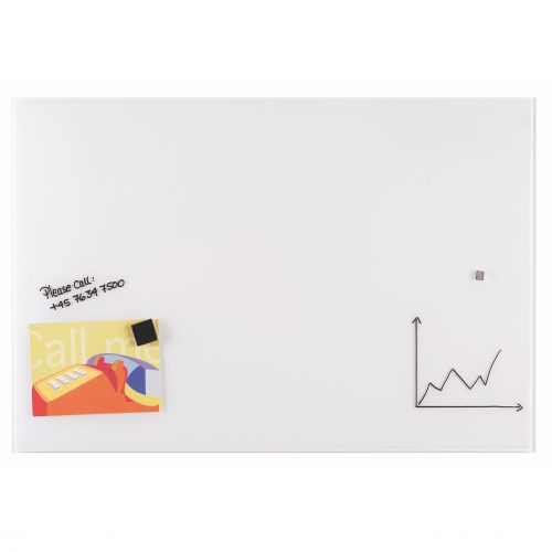Franken Magnetic Glassboards 600 x 800mm White