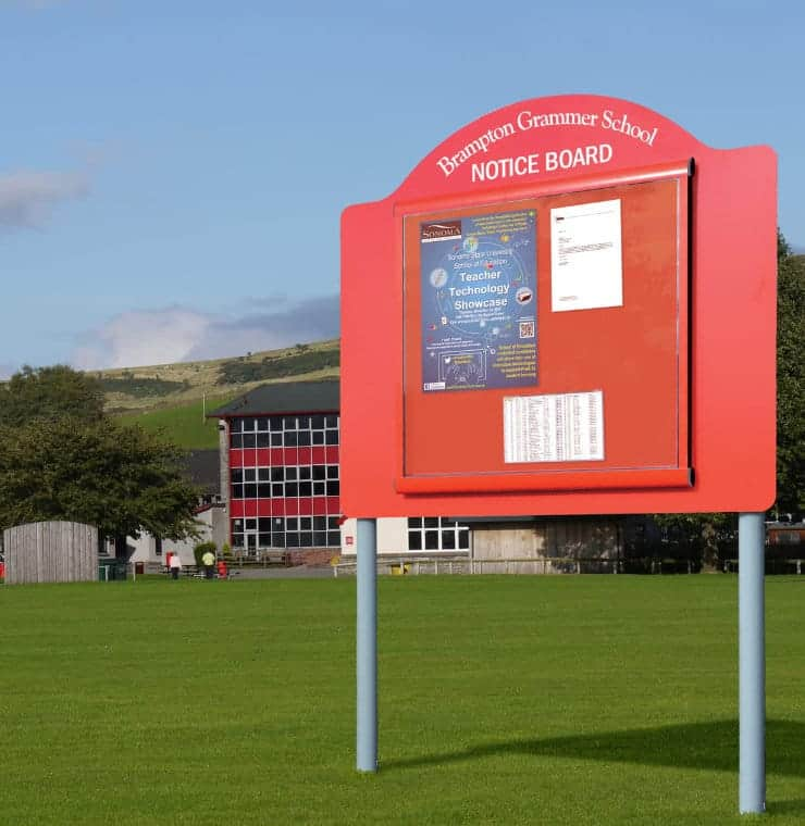 Noticeboards Online Up To 30 Outdoor Notice Boards Discount And