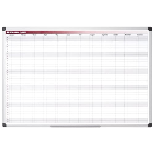 Magnetic 52 Week Annual Wall Planner