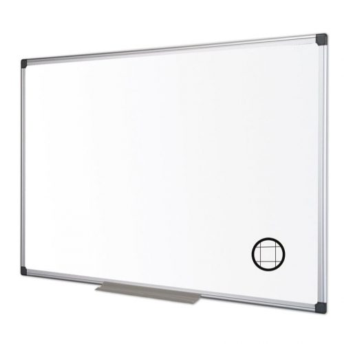 Maya Gridded Aluminium Framed Whiteboard