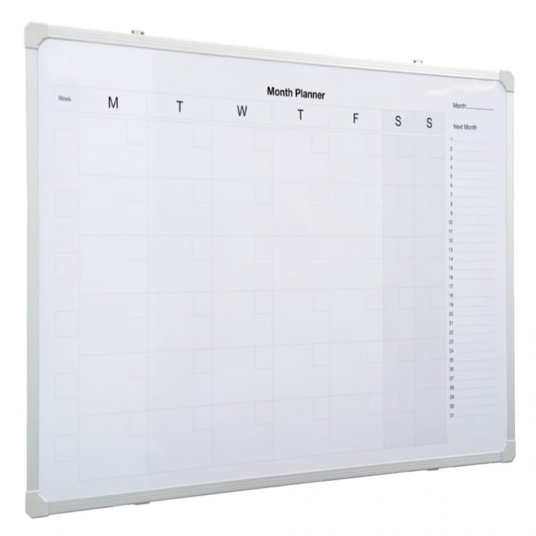 Monthly Planner Whiteboard (900 x 600)
