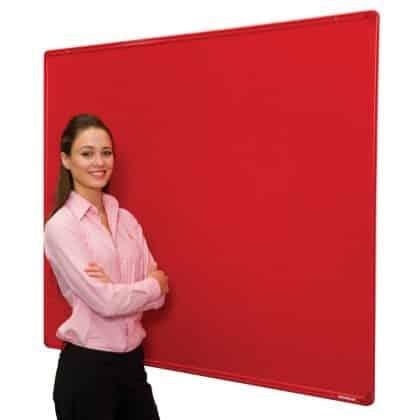 Colour Co-ordinated Aluminium Frame FlameShield Noticeboards