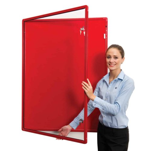 Colour Co-ordinated Flameshield Tamperproof Noticeboards