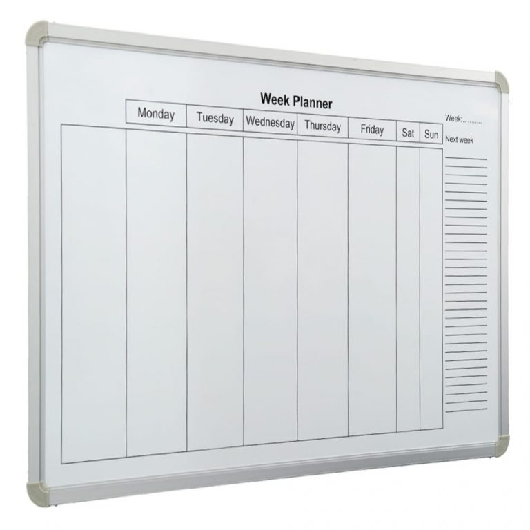 Weekly Planner Whiteboard (900 x 600)