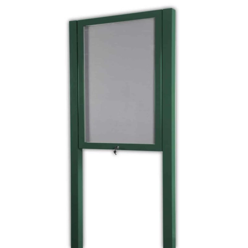 Post Mounted Pin Board Frame
