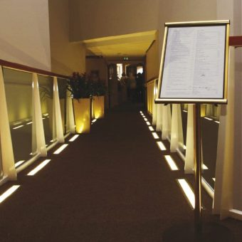 Floor Standing Hospitality Menu Cases