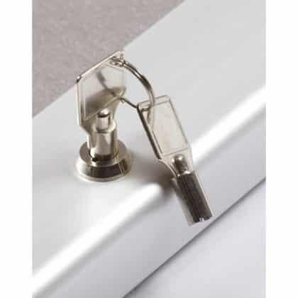 Silver Key Lock Pin Board