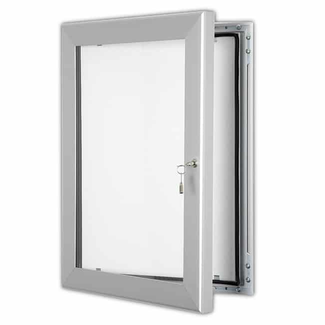 Silver Key Lock Frame