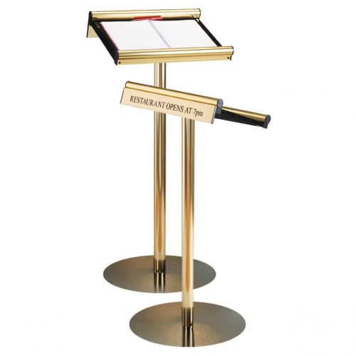 Maitre'd Menu Stands