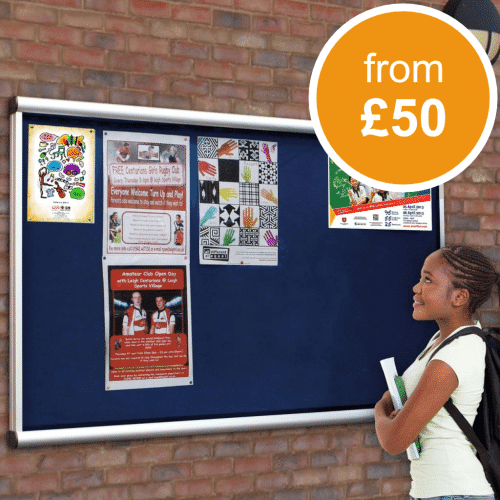 Outdoor Wall Mounted Notice Boards