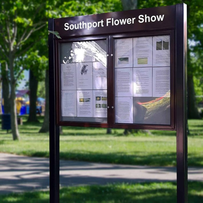 Southport Flower Show Noticeboard