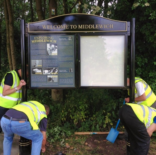 Noticeboard Installation