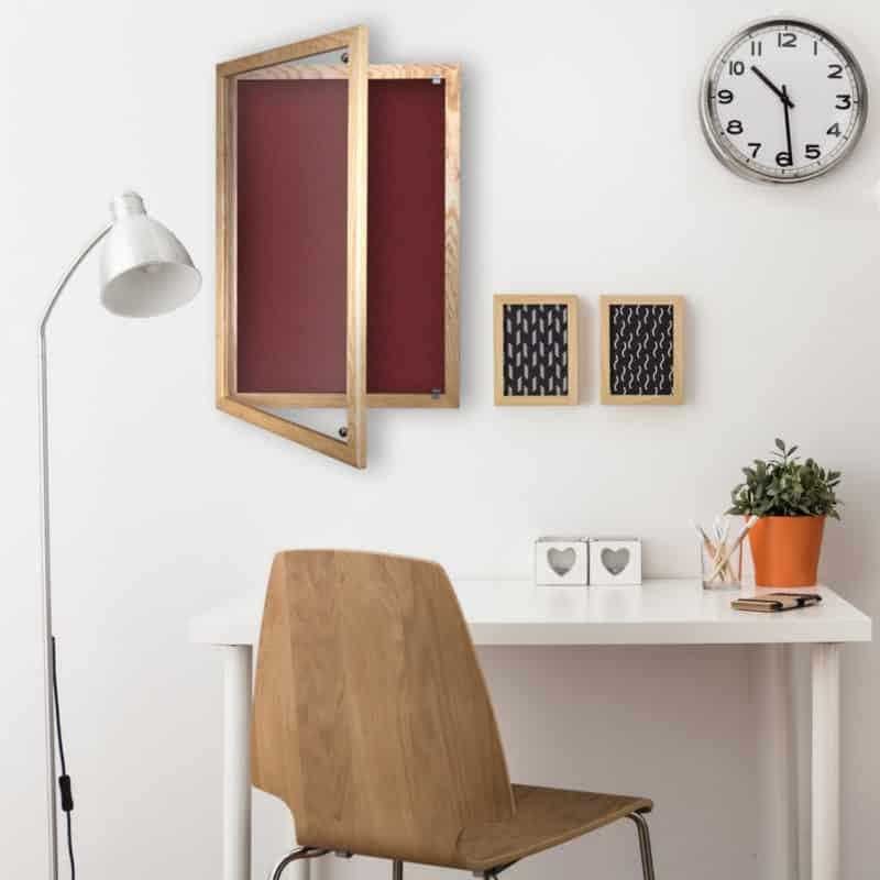 Cara-Wood-Lockable Noticeboard